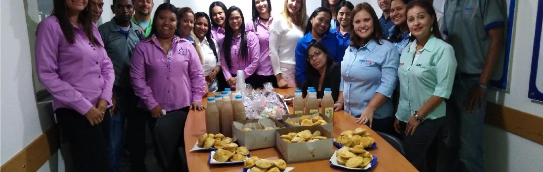 En Grupo Alma compartieron en el día de las madres y del trabajador
