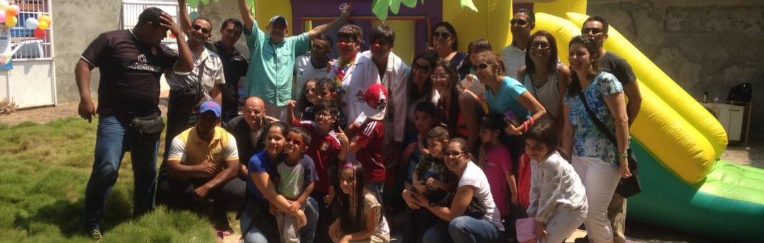 Fundación Alma organizó una actividad recreativa y de integración para niños especiales.
